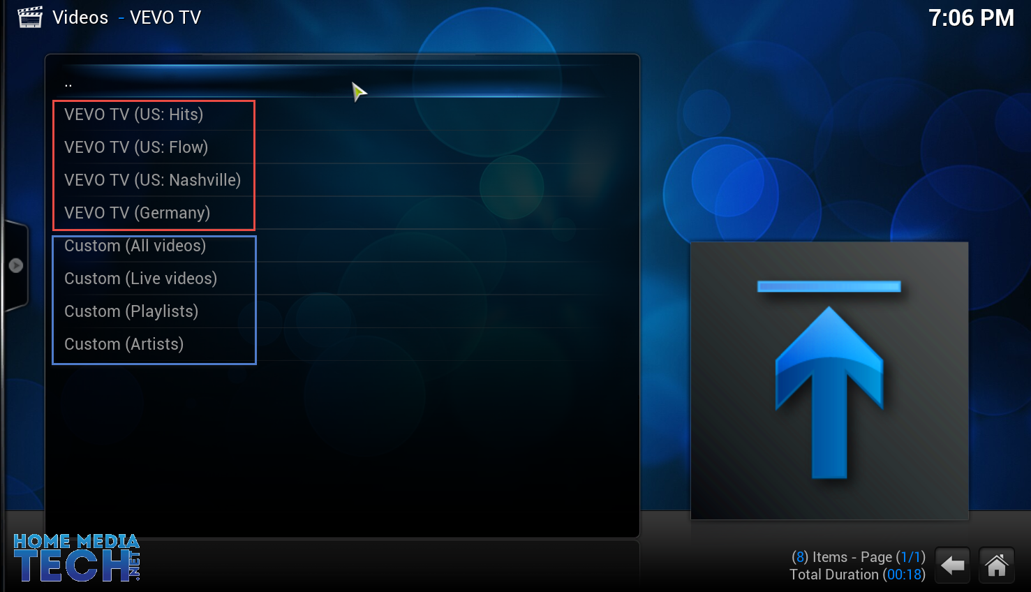 HOW TO: Watch Music Videos on XBMC Using VEVO TV Addon