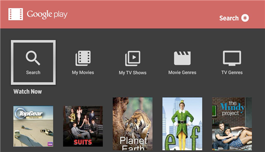 how to watch movies from google play on tv
