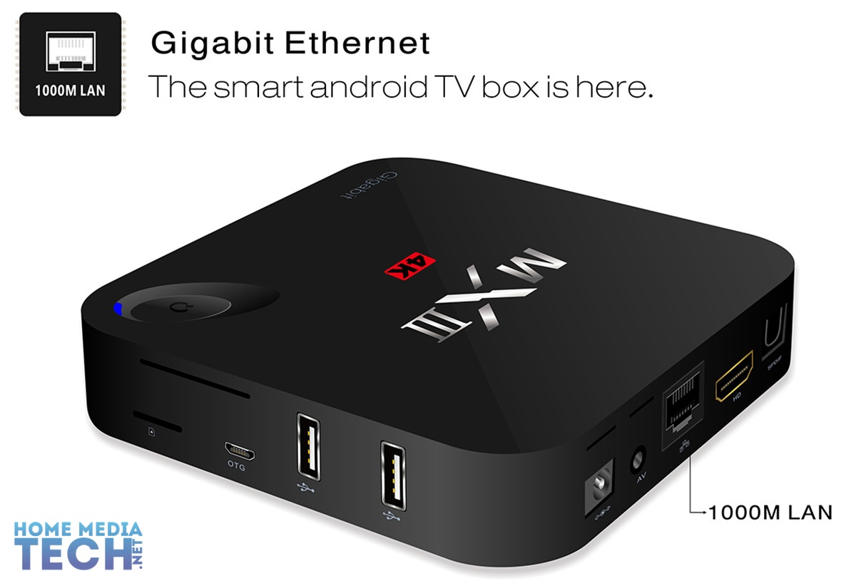 mxiii g mx3 g android tv box review home media tech. Black Bedroom Furniture Sets. Home Design Ideas